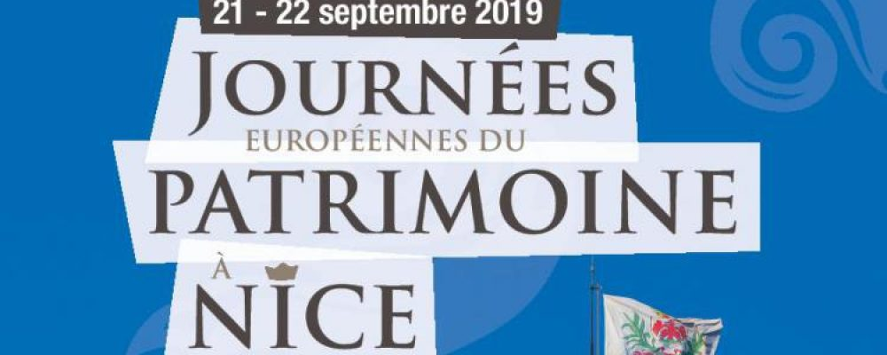 Journées du Patrimoine à Nice samedi 21 et dimanche 22 septembre 2019