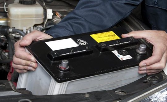 changement batterie de voiture