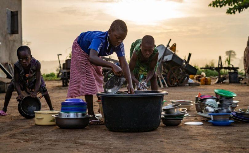 enfants au Togo