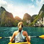 VIETNAM : Kayak sur le lac Ba Be